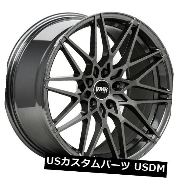 """上質で快適 海外輸入ホイール 19"""" 4-新しい19インチVMR V801ホイール19x8.5 5x114.3 VMR 35無煙炭リム 4-New Wheels 19"""