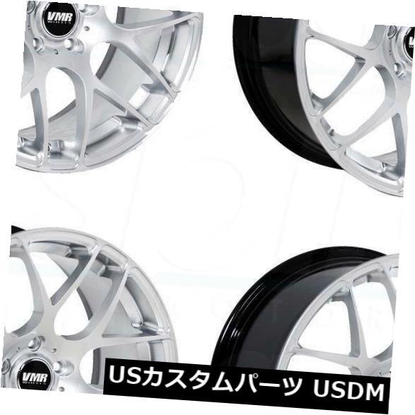 【ご予約品】 海外輸入ホイール 18x9.5 VMR V710 5x114.3 45ハイパーシルバーホイールリムセット(4) VMR 18x9.5 VMR V710 Set(4) Rims 5x114.3 45 Hyper Silver Wheels Rims Set(4), メロウハウス:1b6c2a50 --- sap-latam.com