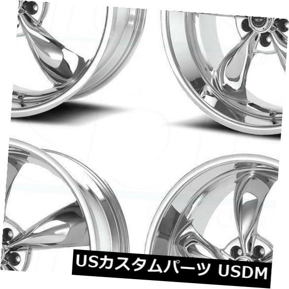 海外輸入ホイール 17x7.5 American Racing AR605 Torq Thrust M 5x115 45クロームホイールリムセット(4) 17x7.5 American Racing AR605 Torq Thrust M 5x115 45 Chrome Wheels Rims Set(4)