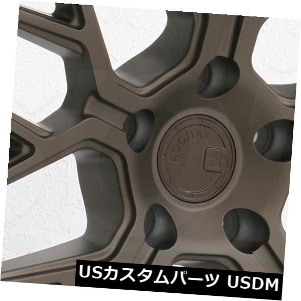 海外輸入ホイール 20x9 / 20x10.5 Aodhan LS009 LS9 5x120 30/35ブロンズホイールリムセット(4)合金 20x9/20x10.5 Aodhan LS009 LS9 5x120 30/35 Bronze Wheels Rims Set(4) Alloy