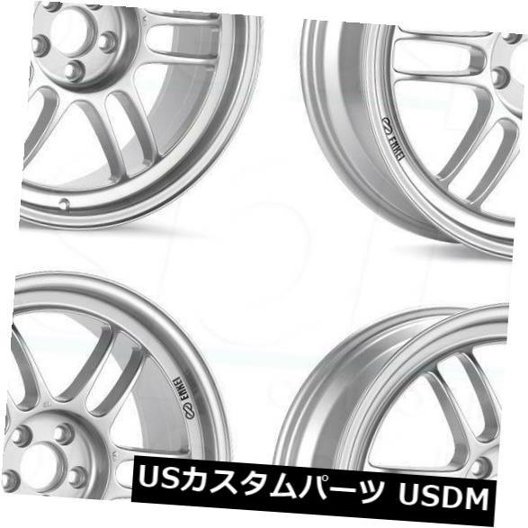 【メーカー再生品】 海外輸入ホイール 17x7.5 48/35 Rims/ 17x8 Enkei RPF1 5x114.3 Set(4) 48/35シルバーペイントホイールリムセット(4) 17x7.5/17x8 Enkei RPF1 5x114.3 48/35 Silver Paint Wheels Rims Set(4), 当麻町:a2119cfe --- arg-serv.ru