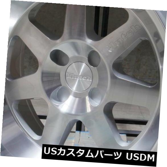 海外輸入ホイール 17x8 / 17x9クラッチML7 5x114.3 15/15シルバー加工ホイールリムセット(4) 17x8/17x9 Klutch ML7 5x114.3 15/15 Silver Machined Wheel Rim set(4)