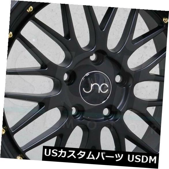 海外輸入ホイール 20x10 JNC 005 JNC005 5x112 25ブラック。 ホイールリムセット(4) 20x10 JNC 005 JNC005 5x112 25 Black. Wheel Rims set(4)