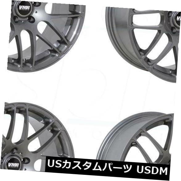 海外輸入ホイール 18x8.5 VMR V710 5x120 35 Gunmetal Wheels New Set(4) 18x8.5 VMR V710 5x120 35 Gunmetal Wheels New Set(4)