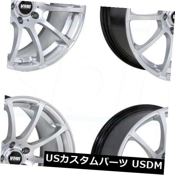 【正規逆輸入品】 海外輸入ホイール Set(4) 18x8.5/ Hyper 18x9.5 VMR V701 5x114.3 5x114.3 45/45ハイパーシルバーホイールリムセット(4) 18x8.5/18x9.5 VMR V701 5x114.3 45/45 Hyper Silver Wheels Rims Set(4), 寄居町:42786ffd --- avpwingsandwheels.com