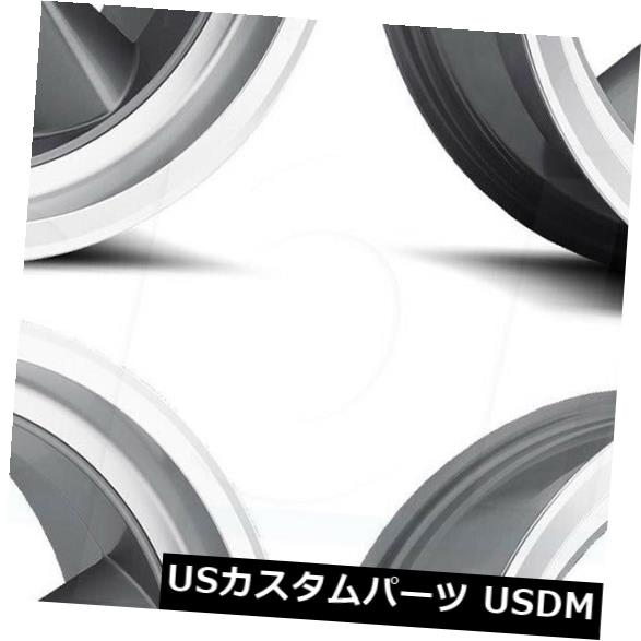 海外輸入ホイール 20x8 / 20x9.5 US Mags Standard U102 5x4.75 / 5x120.6 5 1/1 GunMetal Wheels Ri Set(4) 20x8/20x9.5 US Mags Standard U102 5x4.75/5x120.65 1/1 GunMetal Wheels Ri Set(4)