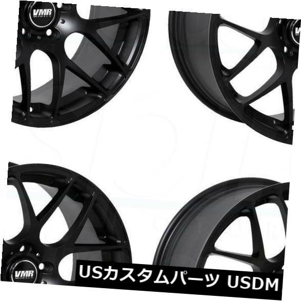 1着でも送料無料 海外輸入ホイール 18x8.5 VMR V710 5x114.3 5x114.3 Wheels 35マットブラックホイールリムセット(4) Rims 18x8.5 VMR V710 5x114.3 35 Matte Black Wheels Rims Set(4), 子供服の赤ちゃんや:860f253d --- bellsrenovation.com