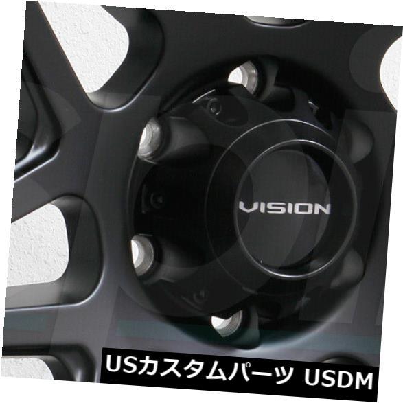 【10%OFF】 海外輸入ホイール 18x9 Set(4) Wheels Vision 18x9 416 Se7En 6x135 12サテンブラックホイールリムセット(4) 18x9 Vision 416 Se7En 6x135 12 Satin Black Wheels Rims Set(4), 仙北町:4b991082 --- sitemaps.auto-ak-47.pl