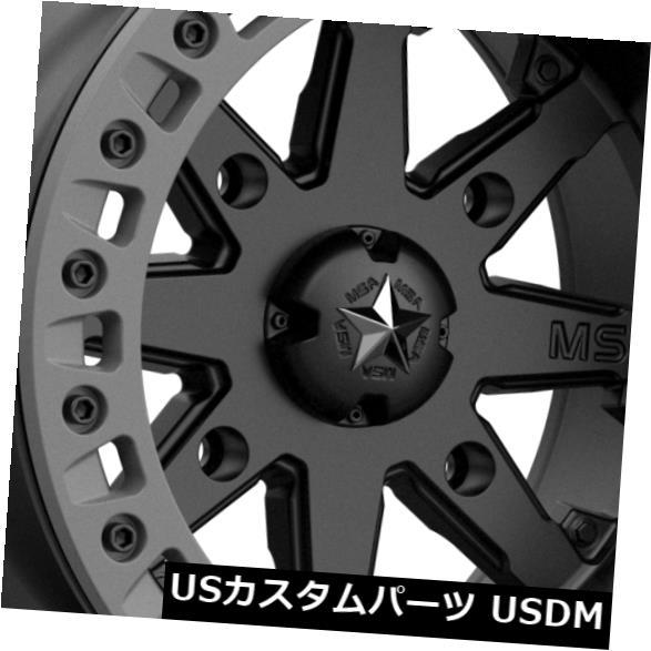 お気に入り 海外輸入ホイール Lok2 14x7 Black MSAオフロードM31 Lok2 4x156 0サテンブラックグレーホイールリムセット(4) 14x7 MSA 4x156 Off-Road M31 Lok2 4x156 0 Satin Black Gray Wheels Rims Set(4), サザンストリート:120933b2 --- lms.imergex.tech