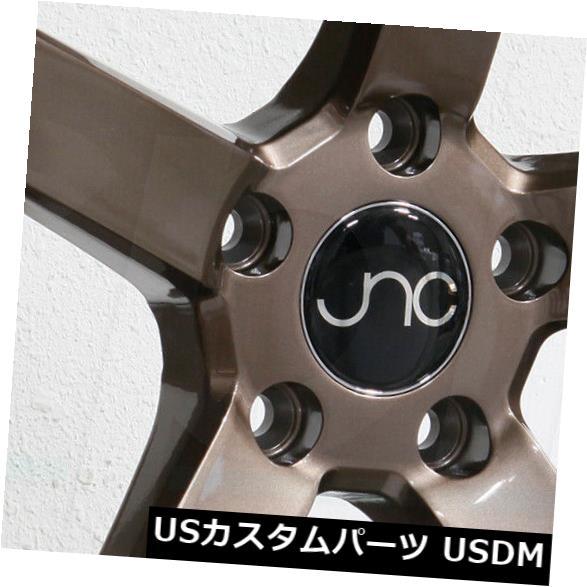 海外輸入ホイール 20x9.5 JNC 026 JNC026 5x120 35グロスブロンズホイール新しいセット(4) 20x9.5 JNC 026 JNC026 5x120 35 Gloss Bronze Wheel New set(4)