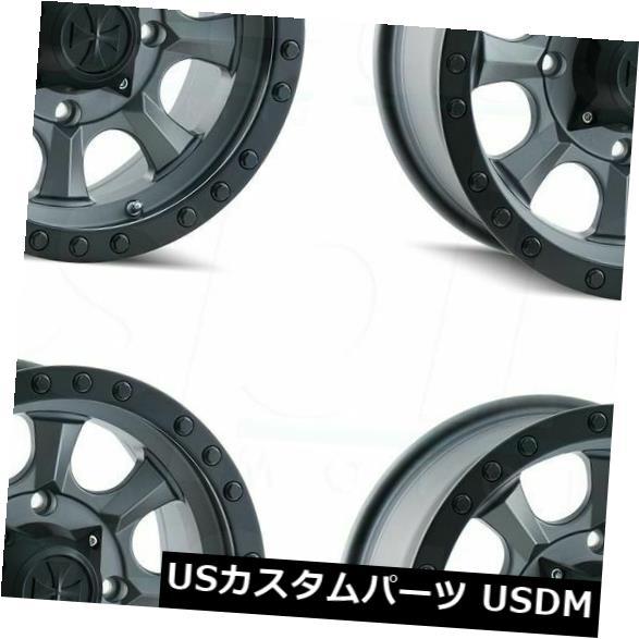輝い 海外輸入ホイール 18x9ダーティライフアイアンマン6x135 -12マットガンメタルホイールリムセット(4) 18x9 Dirty Life Ironman Set(4) Rims 6x135 Wheels -12 Matte Gunmetal Wheels Rims Set(4), ムラタマチ:96e4b370 --- pwucovidtrace.com
