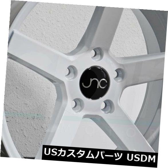 人気No.1 海外輸入ホイール set(4) 20x8.5/ 20x9.5 JNC026 JNC 026 JNC026 5x112 35 New/35ホワイトホイール新しいセット(4) 20x8.5/20x9.5 JNC 026 JNC026 5x112 35/35 White Wheel New set(4), 小豆郡:4cf41d5a --- ecommercesite.xyz