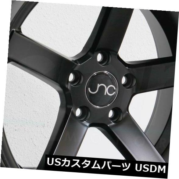 海外輸入ホイール 20x8.5 / 20x9.5 JNC 026 JNC026 5x114.3 40/32マットブラックホイールNew set(4) 20x8.5/20x9.5 JNC 026 JNC026 5x114.3 40/32 Matte Black Wheel New set(4)