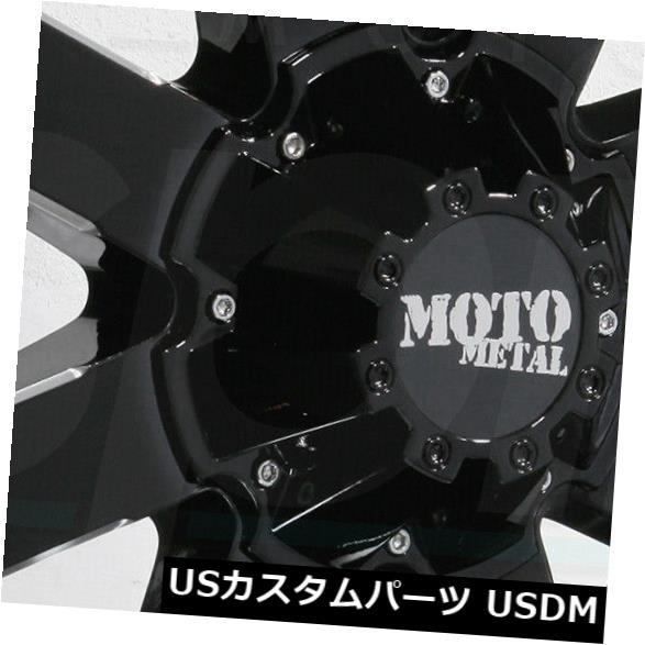 最先端 海外輸入ホイール 17x10 Moto Metal MO962 8x170 -24ブラックミルドホイールリムセット(4) 17x10 Moto Metal MO962 8x170 -24 Black Milled Wheels Rims Set(4), 銀座コージーコーナー 6b13d36a