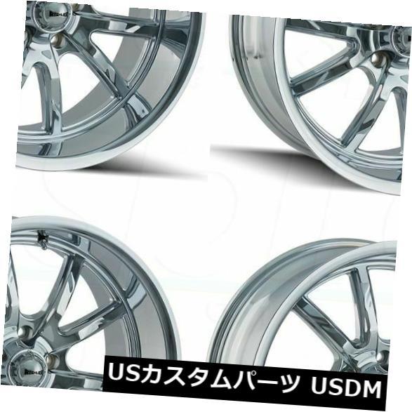 最適な価格 海外輸入ホイール/ 18x9.5 Ridler Rims 650 5x4.75/ Ridler 5x120.6 5 0クロームホイールリムセット(4) 18x9.5 Ridler 650 5x4.75/5x120.65 0 Chrome Wheels Rims Set(4), PandaSelection:5ea9e419 --- anekdot.xyz