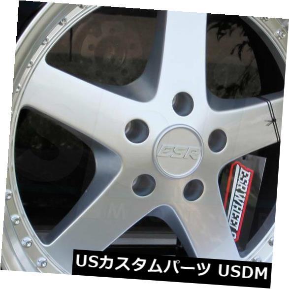 【人気No.1】 海外輸入ホイール Set(4) 18x9.5/ 18x10.5 ESR Rims SR04 SR4 5x112 SR4 35/22ハイパーシルバーホイールリムセット(4) 18x9.5/18x10.5 ESR SR04 SR4 5x112 35/22 Hyper Silver Wheels Rims Set(4), 愛情宣言:eef5b651 --- ecommercesite.xyz