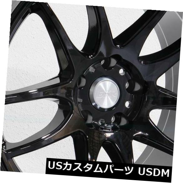 最終値下げ 海外輸入ホイール 19x8.5 Black/ Set(4) 19x9.5 ESR SR08 SR8 5x114.3 Wheels 30/35グロスブラックホイールリムセット(4) 19x8.5/19x9.5 ESR SR08 SR8 5x114.3 30/35 Gloss Black Wheels Rims Set(4), どら屋:4085a2b8 --- lms.imergex.tech