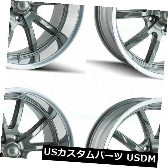 春夏新作 海外輸入ホイール 20x8.5/ 20x10 Ridler 5x114.3 650 5x114.3 30 Set(4) Wheels/38 Gunmetal Wheels Rims Set(4) 20x8.5/20x10 Ridler 650 5x114.3 30/38 Gunmetal Wheels Rims Set(4), GOLD'S GYM & IRONMAN WEB SHOP:a373a08e --- dibranet.com