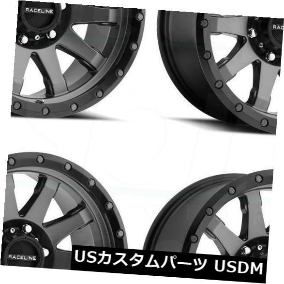 当店だけの限定モデル 海外輸入ホイール 17x8.5 Raceline 934Gクラッチ6x5.5/ 934G 6x139.7 Set(4) 0ガンメタルホイールリムセット(4) Rims 17x8.5 Raceline 934G Clutch 6x5.5/6x139.7 0 Gun Metal Wheels Rims Set(4), スマホ 手帳型 ケースShop ENYU:70d9b0ad --- rednuncamais.online