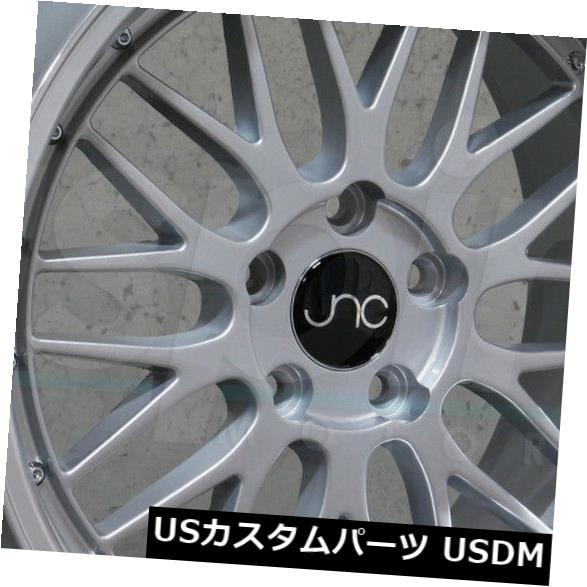 最新エルメス 海外輸入ホイール 20x8.5 JNC 005 set(4) JNC005 JNC005 5x112 30シルバーマシンリップホイールリムセット(4) Machine 20x8.5 JNC 005 JNC005 5x112 30 Silver Machine Lip Wheel Rims set(4), 関前村:0760a043 --- anekdot.xyz