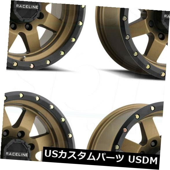 【最新入荷】 海外輸入ホイール Defender 17x9 Raceline 935BZ 0 Bronze Defender 6x5.5/ 6x139.7 0ブロンズホイールリムセット(4) 17x9 Raceline 935BZ Defender 6x5.5/6x139.7 0 Bronze Wheels Rims Set(4), 洗える布団専門店 ウインドバード:143e4781 --- pwucovidtrace.com