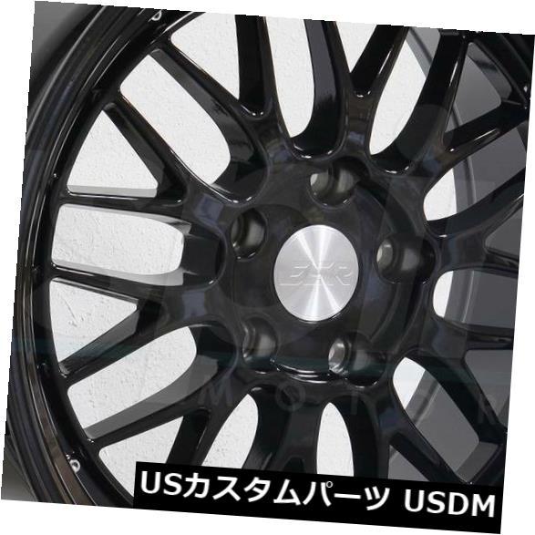 世界的に有名な 海外輸入ホイール 18x8.5/ 18x10.5 SR05 ESR Black SR05 SR5 Wheels 5x120 30/22グロスブラックホイールの新しいセット(4) 18x8.5/18x10.5 ESR SR05 SR5 5x120 30/22 Gloss Black Wheels New Set(4), ビネットShop:aa91d9ab --- ecommercesite.xyz