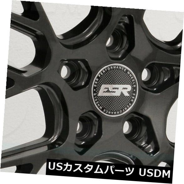 お気に入り 海外輸入ホイール 18x9.5 ESR 18x9.5 CS11 Gun 5x114.3 35ガンメタルグラファイトホイールリムセット(4) 18x9.5 ESR 18x9.5 CS11 5x114.3 35 Gun Metal Graphite Wheels Rims Set(4), ホームステイのおみやげ専門店:13b0b5c7 --- anekdot.xyz