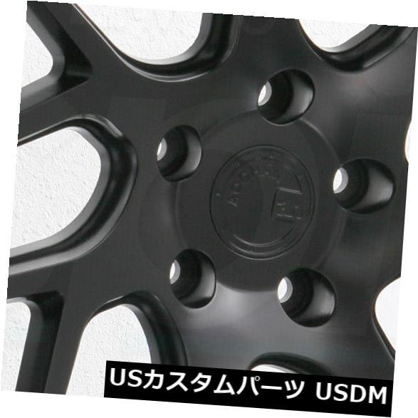 逆輸入 海外輸入ホイール 20x9 Aodhan LS008 LS8 5x114.3 20x9 30マットブラックホイールリムセット(4) 20x9 LS8 Matte Aodhan LS008 LS8 5x114.3 30 Matte Black Wheels Rims Set(4), ブランド雑貨サザンクロス:5edad113 --- mibanderarestaurantnj.com