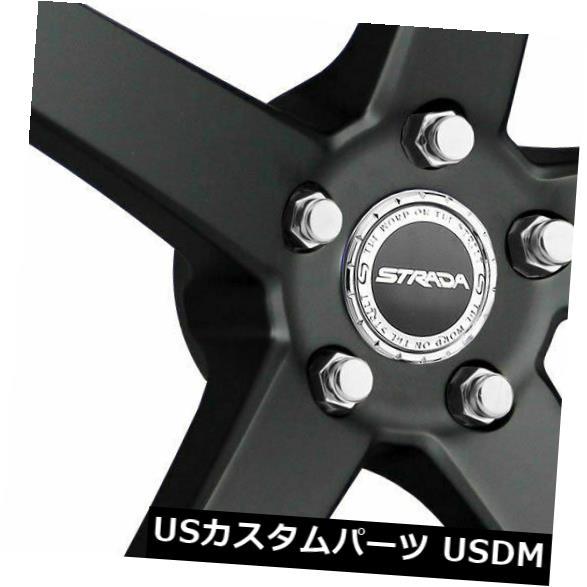 【送料込】 海外輸入ホイール 22x9.5 Perfetto Strada S35 Perfetto Perfetto 6x5.5/ Black 6x139.7 24ブラックホイールリムセット(4) 22x9.5 Strada S35 Perfetto 6x5.5/6x139.7 24 Black Wheels Rims Set(4), Ray Green:59061ede --- mail.durand-il.com