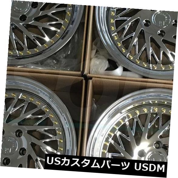 日本最大級 海外輸入ホイール 4-Directional 18x9.5 Aodhan DS03 DS3 Set(4) 5x114.3 30 Vacuum Chrome Vacuum Chrome Wheels Rims Set(4) 4-Directional 18x9.5 Aodhan DS03 DS3 5x114.3 30 Vacuum Chrome Wheels Rims Set(4), 開運印房:6a658a2b --- ecommercesite.xyz