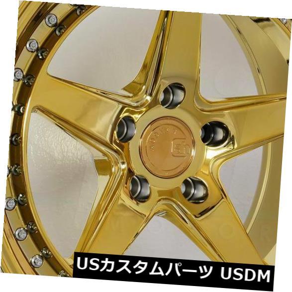 【アウトレット☆送料無料】 海外輸入ホイール 18x10.5 Gold Vacuum 15 Aodhan DS05 DS5 5x114.3 15ゴールドバキュームホイールリムセット(4) 18x10.5 Aodhan DS05 DS5 5x114.3 15 Gold Vacuum Wheels Rims Set(4), f-shop:11ef102e --- anekdot.xyz