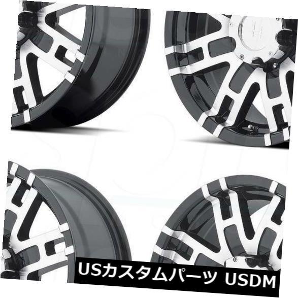 【即日発送】 海外輸入ホイール 20x9 Helo HE835 5x5.5/ 5x5.5/5x139.7 5x139.7 Rims 18グロスブラックマシンホイールリムセット(4) 20x9 5x5.5 Helo HE835 5x5.5/5x139.7 18 Gloss Black Machine Wheels Rims Set(4), 葵書林:97700415 --- pwucovidtrace.com