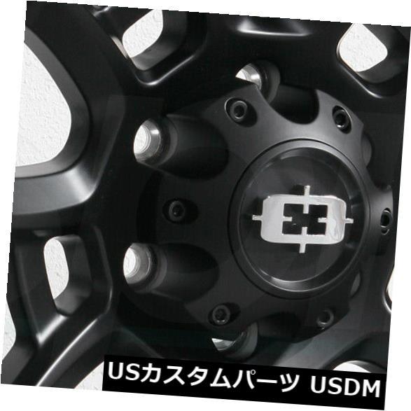 海外輸入ホイール 20x9 Vision 415 Bomb 5x5.5 5x139.7 12サテンブラックホイールリムセット 4 20x9 Vision 415 Bomb 5x5.5 5x139.7 12 Satin Black Wheels Rims S