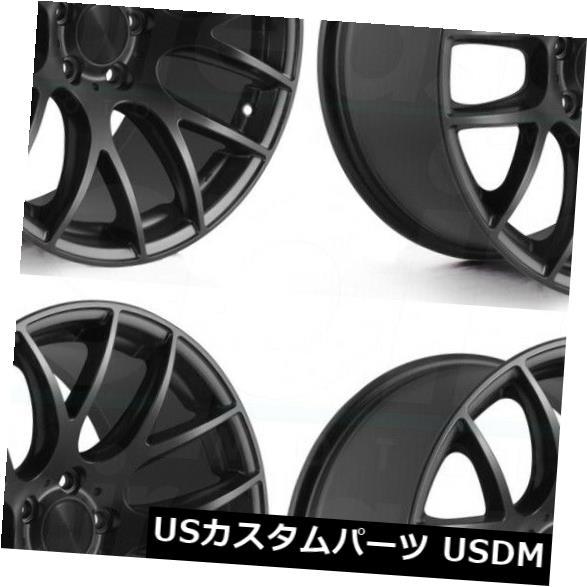 【全品送料無料】 海外輸入ホイール 5x112 18x8.5 3SDM 0.01 5x112 45マットブラックホイールリムセット(4) 18x8.5 Matte 3SDM 3SDM 0.01 5x112 45 Matte Black Wheels Rims Set(4), コンタクトレンズのウェイブマート:058e3cbf --- anekdot.xyz