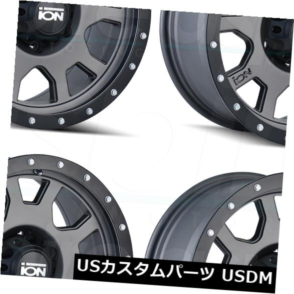 2021春大特価セール! 海外輸入ホイール 5x5.5/5x139.7 20x9イオン135 5x5.5/ 5x139.7 0マットガンメタルホイールリムセット(4) 5x5.5 20x9 Ion Matte 135 5x5.5/5x139.7 0 Matte Gunmetal Wheels Rims Set(4), 宇美町:fa6e7fe0 --- ecommercesite.xyz