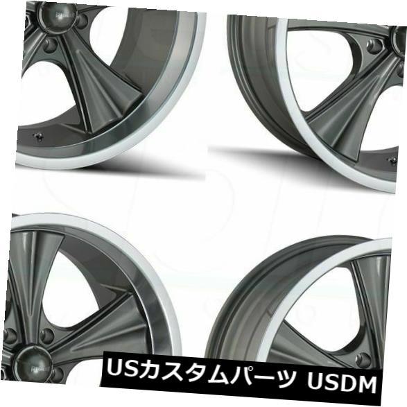 気質アップ 海外輸入ホイール 20x8.5リドラー651 5x5 Set(4) 20x8.5/ 5x127 0ガンメタルホイールリムセット(4) 20x8.5 0 Ridler 651 5x5/5x127 0 Gunmetal Wheels Rims Set(4), サングラスメガネのeyeone:d25818ed --- ecommercesite.xyz