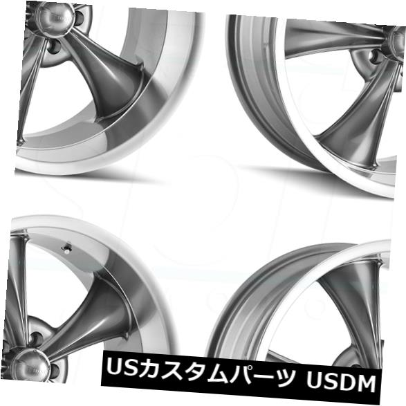 最新情報 海外輸入ホイール 20x10リドラー695 5x4.75 0/ 5x120.6 5 0ガンメタルホイールリムセット(4) 20x10 Ridler Set(4) 5x4.75 695 5x4.75/5x120.65 0 Gunmetal Wheels Rims Set(4), オフィストレンド:bb95c363 --- ecommercesite.xyz
