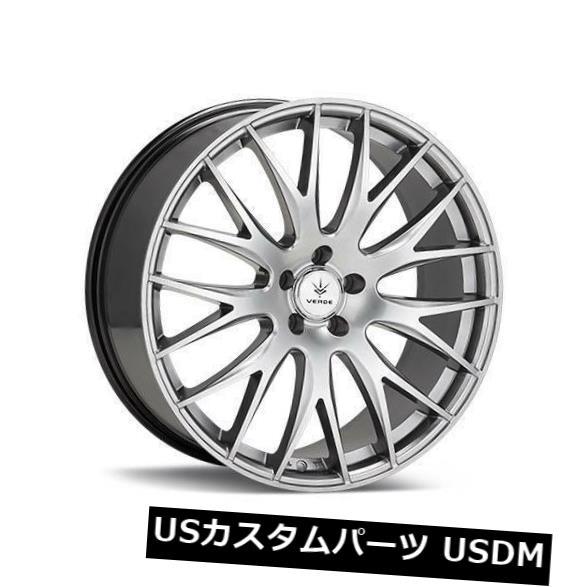 【超特価sale開催!】 海外輸入ホイール 20x8.5 Verde 20x8.5 Verde V27 Saga 5x120 38ハイパーシルバーホイールリムセット(4) 20x8.5 Silver Verde V27 Saga 5x120 38 Hyper Silver Wheels Rims Set(4), カササチョウ:5a3c8ab6 --- anekdot.xyz