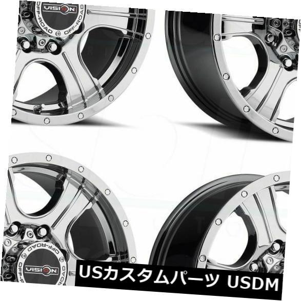 上品 海外輸入ホイール Wheels 20x9 Phantom Vision 396 Assassin 6x5.5 Assassin/ 6x139.7 10ファントムクロームホイールリムセット(4) 20x9 Vision 396 Assassin 6x5.5/6x139.7 10 Phantom Chrome Wheels Rims Set(4), サントウグン:60649708 --- anekdot.xyz