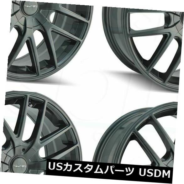 【在庫あり/即出荷可】 海外輸入ホイール 20x8.5 Touren Rims 5x120 TR60 5x112/ 5x112/5x120 5x120 40ガンメタルホイールリムセット(4) 20x8.5 Touren TR60 5x112/5x120 40 Gunmetal Wheels Rims Set(4), コウザキマチ:096cd197 --- avpwingsandwheels.com