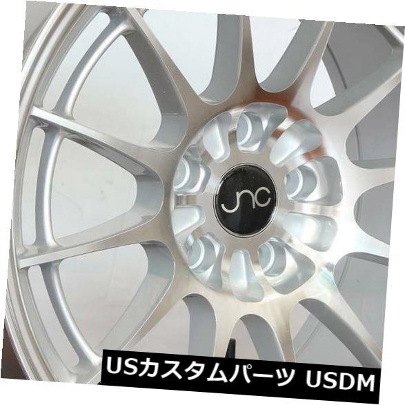 公式 海外輸入ホイール 19x8.5/ 19x11 JNC 033 JNC033 JNC033 5x114.3 Wheel 35 5x114.3/25シルバーマシンフェイスホイールNew set(4) 19x8.5/19x11 JNC 033 JNC033 5x114.3 35/25 Silver Machine Face Wheel New set(4), 見附市:f63bc381 --- avpwingsandwheels.com