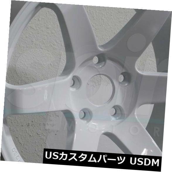 【おしゃれ】 海外輸入ホイール 19x9.5/ 25/25 19x10.5 White JNC 014 JNC014ブランク25/25ホワイトホイールリムセット(4) 19x9.5 JNC/19x10.5 JNC 014 JNC014 Blank 25/25 White Wheel Rims set(4), 作業服の渡辺商会:e8ac4be5 --- mail.durand-il.com