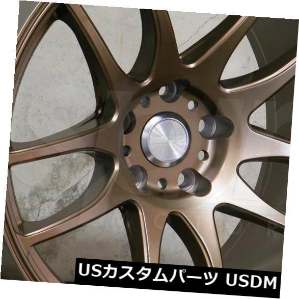 割引 海外輸入ホイール 18x9.5 Wheels/ 18x10.5 5x114.3 ESR 15/22 SR08 SR8 5x114.3 15/22ブロンズホイールリムセット(4) 18x9.5/18x10.5 ESR SR08 SR8 5x114.3 15/22 Bronze Wheels Rims Set(4), ナギソマチ:2f9ee91e --- mail.durand-il.com