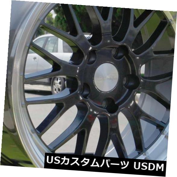 最新発見 海外輸入ホイール Rims 18x9.5 ESR 18x9.5 SR05 Metal SR5 5x120 35ガンメタルホイールリムセット(4) 18x9.5 ESR SR05 SR5 5x120 35 Gun Metal Wheels Rims Set(4), Knock,Knock,Puchic!:b240b582 --- growyourleadgen.petramanos.com