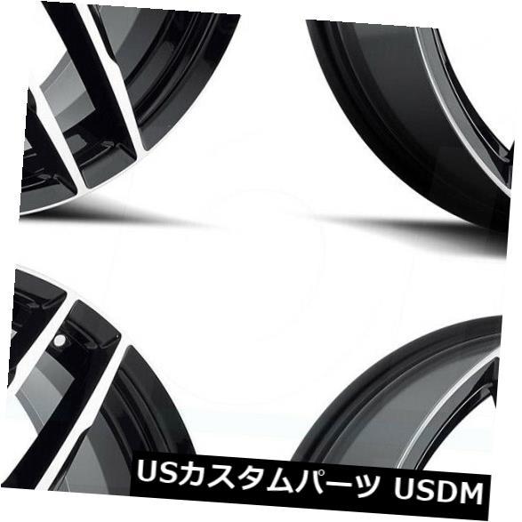 1着でも送料無料 海外輸入ホイール 20x8.5 MKW A613 Wheels 5x112/ 20x8.5 5x114.3 40グロスブラックマシンフェイスホイールリムセット(4) MKW 20x8.5 MKW A613 5x112/5x114.3 40 Gloss Black Machine Face Wheels Rims Set(4), 野上町:11dced92 --- sap-latam.com