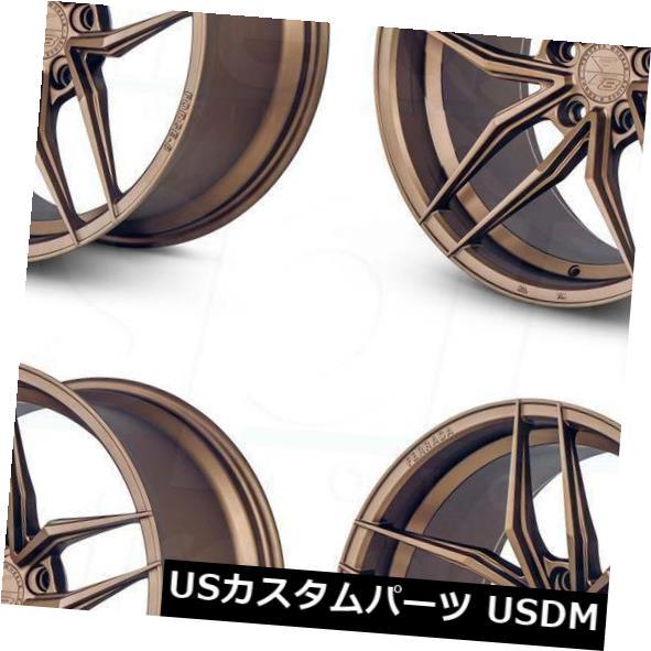 大特価放出! 海外輸入ホイール 20x9 5x120/ Wheels 20x10フェラーダF8-FR8 5x120 Set(4) 35/40マットブロンズホイールリムセット(4) 20x9/20x10 Ferrada F8-FR8 5x120 35/40 Matte Bronze Wheels Rims Set(4), セカンドスピリッツ:e5331561 --- agrohub.redlab.site