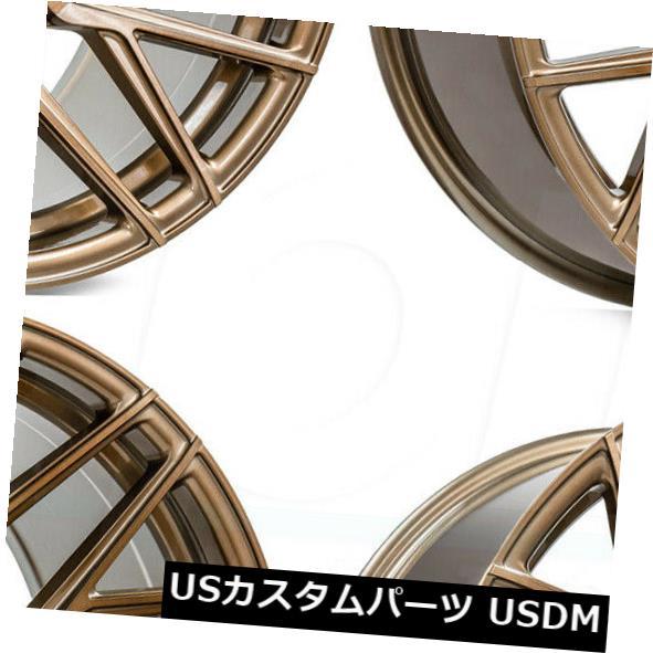 全国総量無料で 海外輸入ホイール RFX10 21x9 Rohana RFX10 5x120 21x9 35ブラシ付きブロンズホイールリムセット(4) 21x9 5x120 Rohana RFX10 5x120 35 Brushed Bronze Wheels Rims Set(4), オカドン:e30a6434 --- agrohub.redlab.site