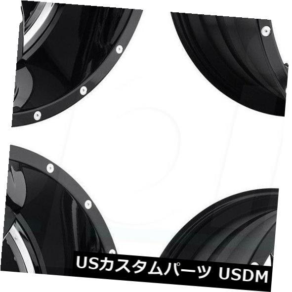 最安値挑戦! 海外輸入ホイール 20x10燃料ロッカーD272 8x170 -18クロームブラックリップホイールリムセット(4) 8x170 20x10 Fuel Rocker D272 Set(4) Black 8x170 -18 Chrome Black Lip Wheels Rims Set(4), 八女の天空茶屋(栗原製茶):90e26837 --- agrohub.redlab.site