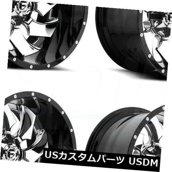 良質  海外輸入ホイール 20x10フューエルクリーバーD240 8x165.1 8x6.5/ 8x165.1 -19クロームホイールリムセット(4) 20x10 Fuel Cleaver Wheels Chrome D240 8x6.5/8x165.1 -19 Chrome Wheels Rims Set(4), 和柄アイテムshop 小都:a9c899bc --- agrohub.redlab.site