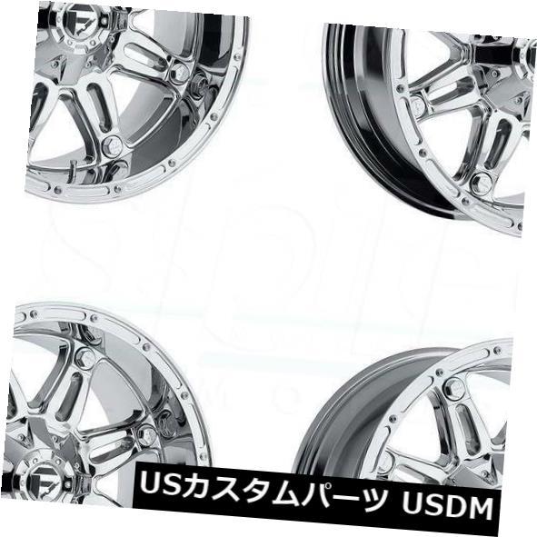 車用品 バイク用品 >> タイヤ ホイール 海外輸入ホイール 22x12燃料人質D530 6x135 買物 6x5.5 -44クロームホイールリムセット -44 4 Set D530 特価キャンペーン Wheels Chrome Hostage Fuel 22x12 Rims